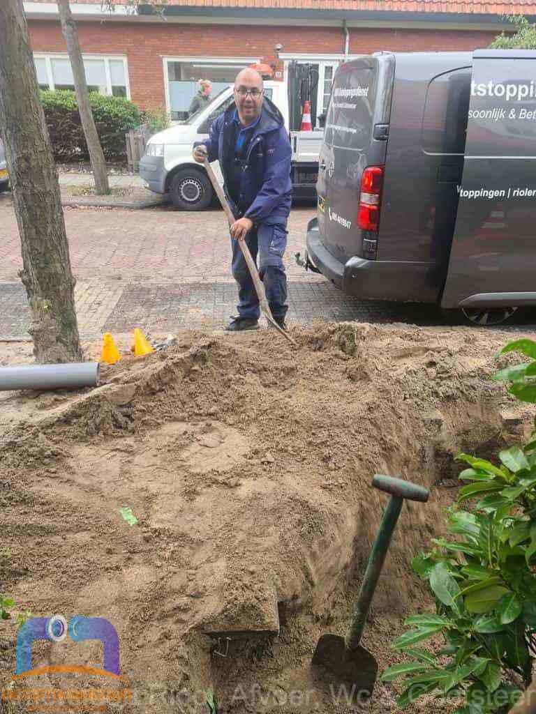 Riool ontstoppen Amersfoort graven